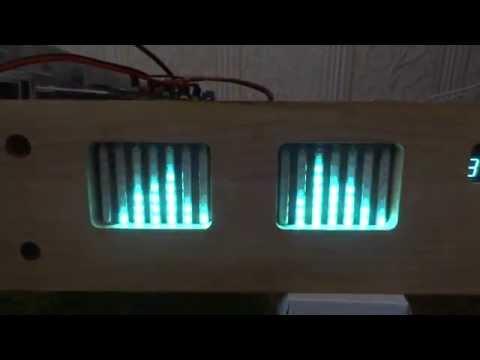 MSGEQ7-based Audio Spectrum Analyzer Test 2 - смотреть