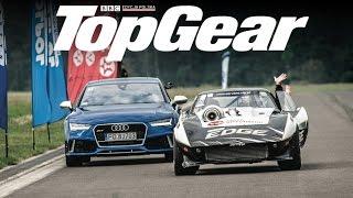 Audi RS 7 vs Corvette VTG | Drag Race | TopGear Polska
