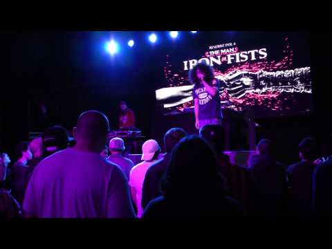 Eyenine - The Man With The Iron Fists Tour