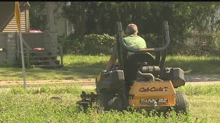 Warren Family Mission helps beautify city with free lawn mowing partnership