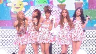 KARA - Miss U, 카라 - 그리운 날엔(Miss U), Music Core 20120825