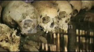 FILE-RWANDA GENOCIDE GENOCIDE AFTERMATH-BONES
