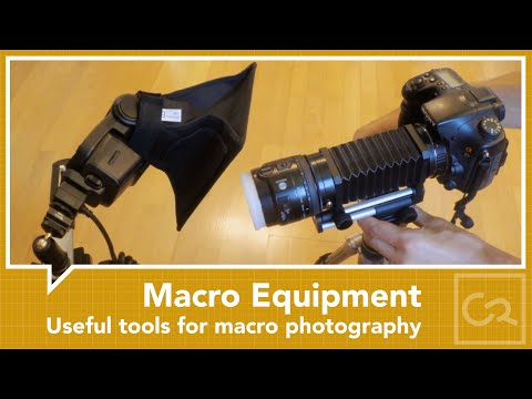 Useful equipment for macro photography
