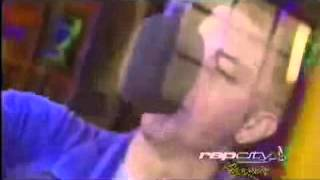 "Eminem-""Keepin' it Raw"" Freestyle on BET RapCity 2000"