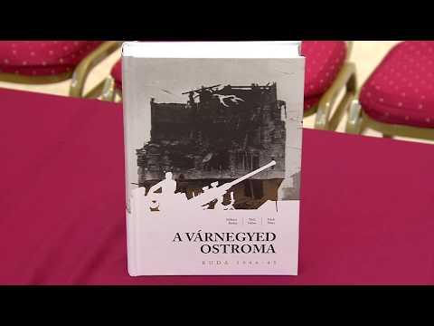 A Várnegyed ostroma könyvbemutató - video preview image