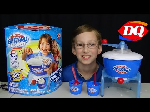 Dairy Queen Blizzard Ice Cream Maker Machine