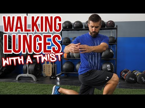 Walking Lunge and Twist