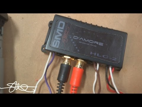 SMD HLC-2 High/Low (Level) Converter - Clean RCA Output from Stock Stereo