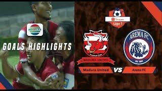 Madura United (1) Vs Arema Malang (0) - Goal Highlight | Shopee Liga 1