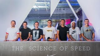 The Science of Speed, Nike Event, 26-28/05/2016