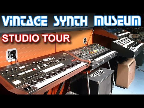VINTAGE SYNTHESIZER MUSEUM – Synth Studio Tour & Synthesizer Reviews