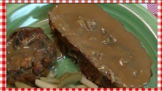 Turkey & Stuffing Spiral Meatloaf Recipe ~ Noreen's Kitchen