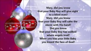 Mary Did You Know (Lyrics)