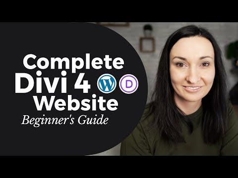 How to Create a WordPress Website in 2020 - Divi Theme Beginner's Walkthrough 💜