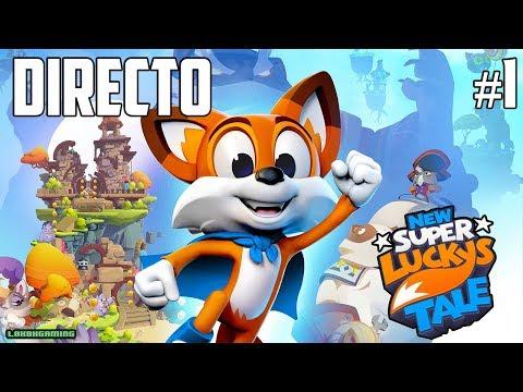 Gameplay de New Super Lucky's Tale