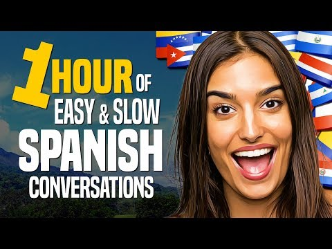 Learn SPANISH: A 1-HOUR Beginner Conversation Course (for daily life) - OUINO.com