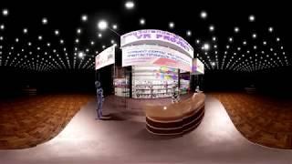 Выставочный стенд. Video 360. Unreal Engine 4