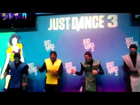 Ladies And Gentlemen, The Mortal Kombat Ninja Dancers
