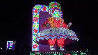 preview picture of video '3D LED Lighting of Chandannagar Jagadhatri Puja 2014'