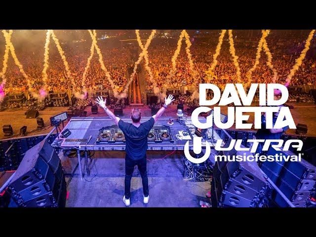 David Guetta Miami Ultra Music Festival 2019