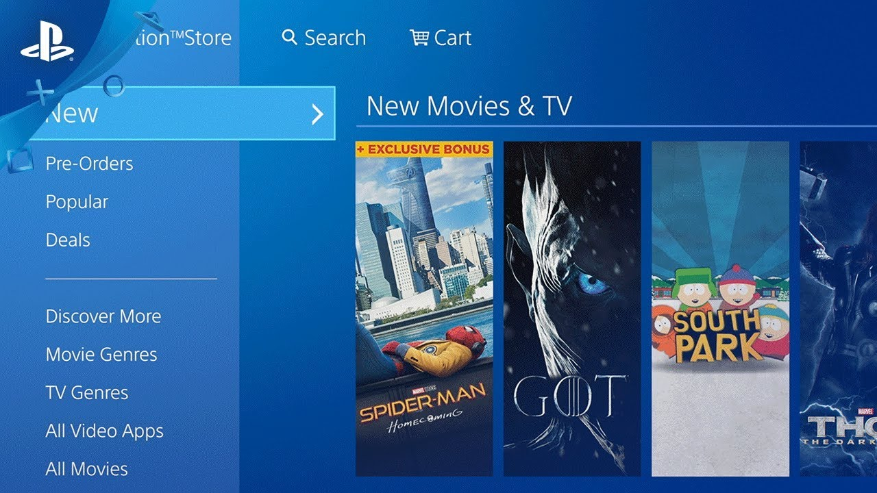 PlayStation Video – Latest Movies and TV Shows