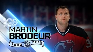 Martin Brodeur owns many key career goalie records