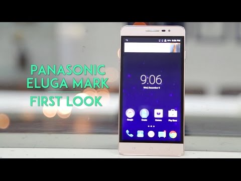 Panasonic Eluga Mark First Look