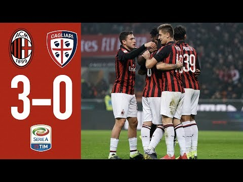 Highlights AC Milan 3-0 Cagliari - Matchday 23 Serie A TIM 2018/19