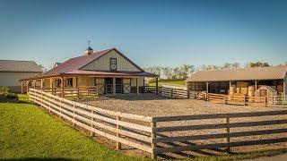 Showcase Horse Barn In Shippensburg, PA • A.B. Martin