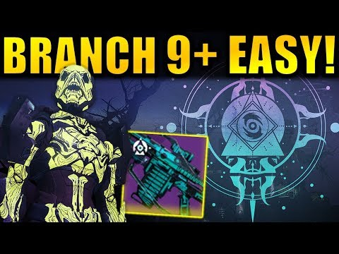 EASY Branch 9! - Haunted Forest Guide! | Festival of the Lost 2019