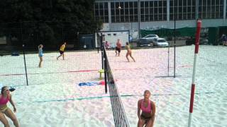 preview picture of video 'Girls on the Beach Inter City Tournament in Prague vol. 4'