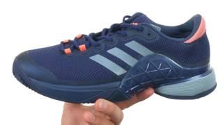 Ανδρικά παπούτσια τένις Adidas Barricade 2017 Clay video