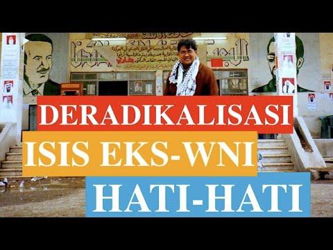 Teguh Santosa: Lembaga Yang Mendeteksi ISIS Eks WNI Tidak Fokus