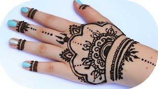 Henna Tutorial Auf Die Ganze Hand | Sanny Kaur