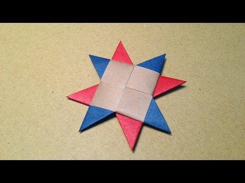 ハート 折り紙:折り紙で手裏剣-matome.naver.jp