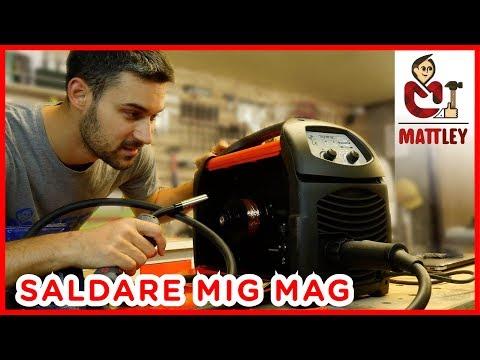 SALDATURA MIG MAG – Come impostare la saldatrice a filo continuo