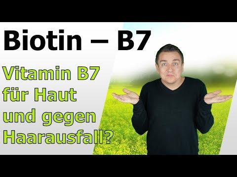 Biotin Vitamin B7 - Für Haut und Haare?