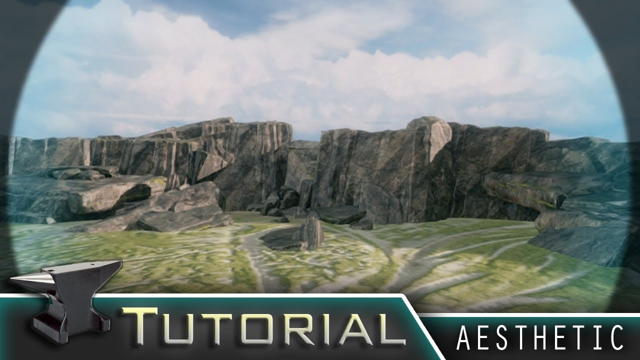 """Cliffside Terrain"" - Aesthetic Forge Tutorial"