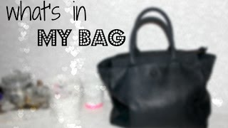 WHAT'S IN MY BAG - April 2015   All About Leonie