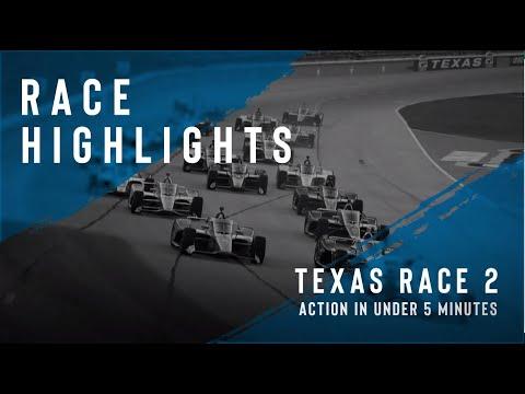 佐藤琢磨は14位 インディーカー第4戦 テキサス・モータースピードウェイの決勝レースダイジェスト動画