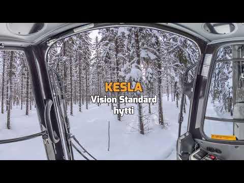 KESLA Vision Standard -hytti 360 astetta sisältä FIN