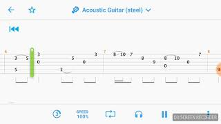 Let Her Go Sungha Jung(Guitar Tabs)