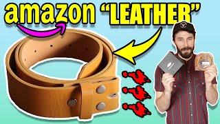 Leather Belt Review - ($10 AMAZON BELTS) - Genuine Leather Belt