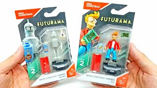 Futurama Mega Construx Heroes Complete Set from Series 2