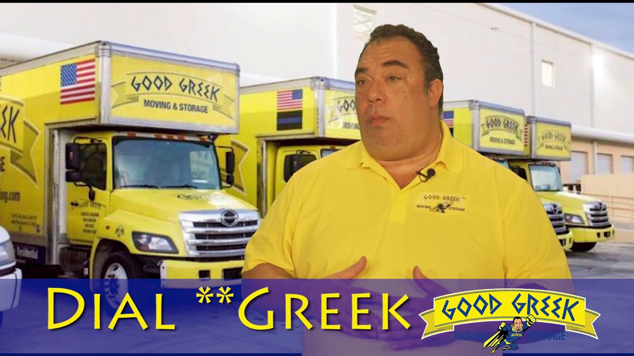 Good Greek - The Best Moving Tips!