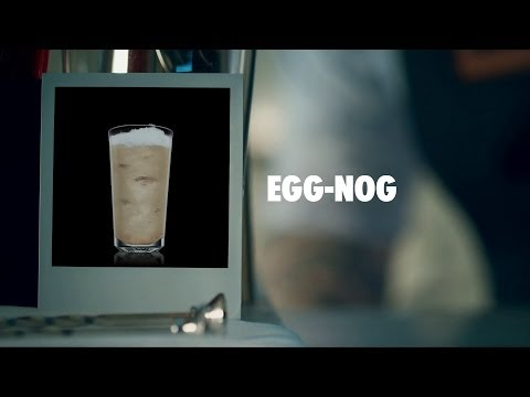 Video EGG-NOG DRINK RECIPE - HOW TO MIX