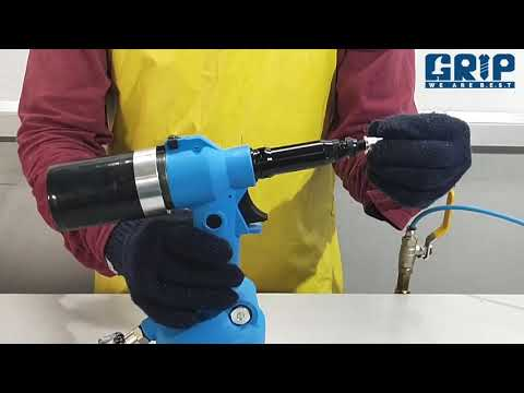 Hydro Pneumatic Rivet Nut Tool Suitable For M3 To M12 Size (PRN 0719)