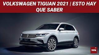 El Volkswagen Tiguan 2021 se renueva con rostro de Golf y hasta versión R con 320 hp