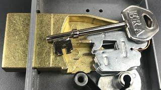 "[721] ERA ""Viscount"" 5-Lever Mortice Lock Picked"
