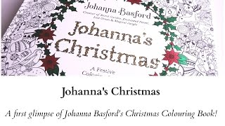 JOHANNAS CHRISTMAS COLORING BOOK REVIEW And FlICK THROUGH